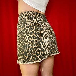 Leopard Skirt from Zara